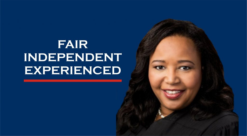 Re-elect Judge Benson - Fair, Independent, Experienced